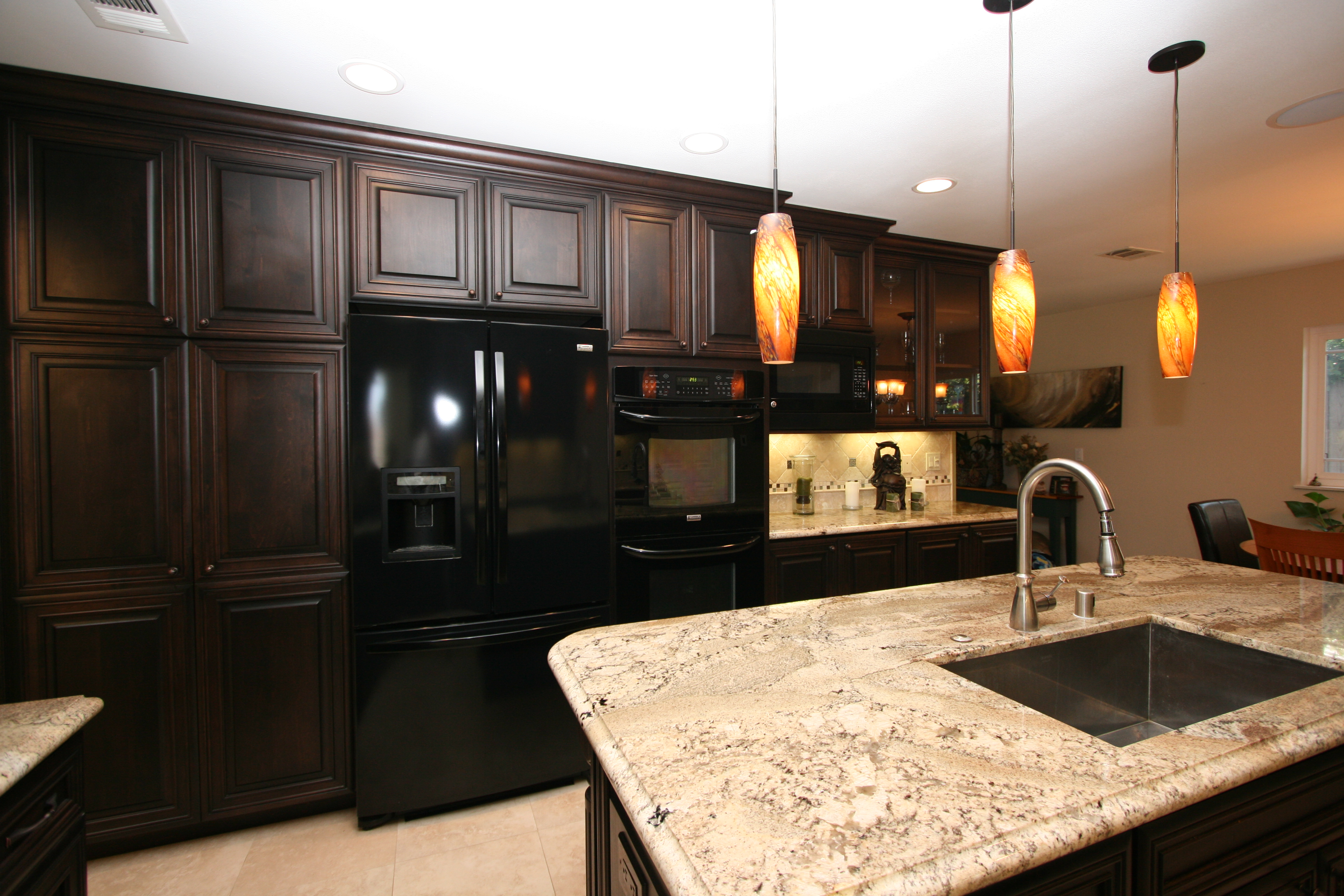 Fantastic Kitchen Cherry Cabinets ...