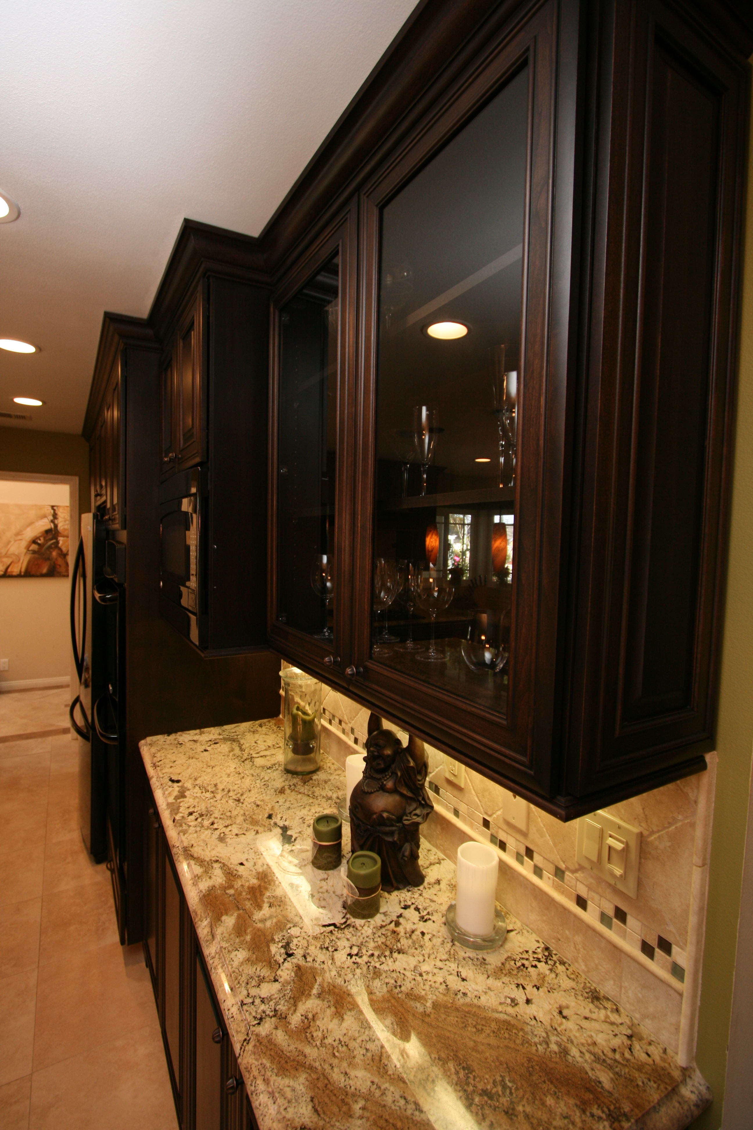 Duffy Home A Traditional Cherry Kitchen For A Modern
