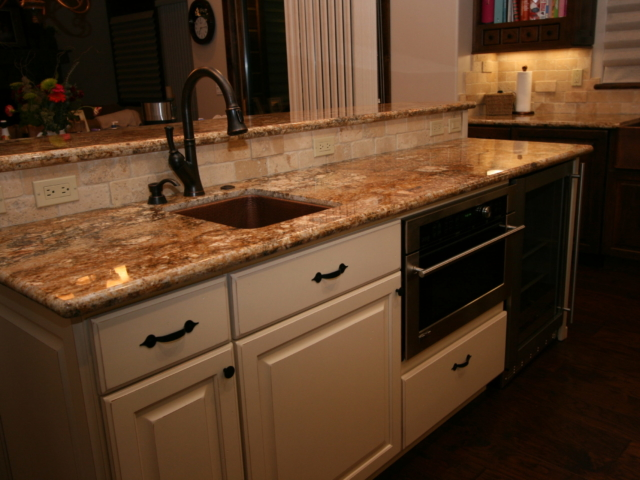 Two Toned in Tahoe - Kitchen sink details